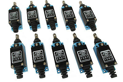 10 Pc Temco Cross Roller Plunger Limit Switch Cnc Mill Plasma Router Lathe Home