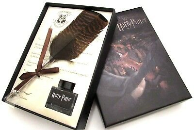 Potters Pen (Quill Pen Luxury Harry Potter Quill Pen And Ink Set / Ink Bottle Without)