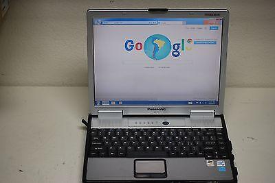 Panasonic Toughbook CF-74 Dual Core 250gb DVD/CDRW Touch Screen Win 7 Pro WiFi