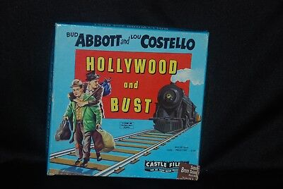 Hollywood & Bust, Abbott & Costello, B&W, sound 200ft, good print for sale  Hanahan