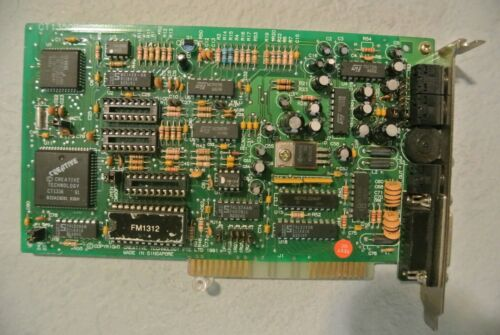 CREATIVE SOUND BLASTER 2.0 CT 1350B REV 4  ISA SOUND CARD
