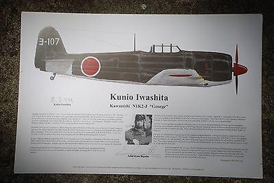 Japanese Fighter Ace!, Aviation Art Prints, Ernie Boyette