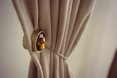 Tieback your curtains with no installation