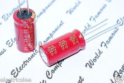 2pcs - Elna 470uf 470f 25v Cerafine 12x25mm Radial Capacitor For Audio
