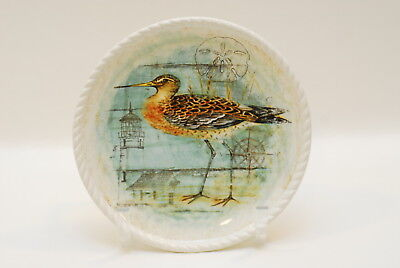 Certified International Corp Beach Cottage Bird Salad Plate 8 7/8 Inch