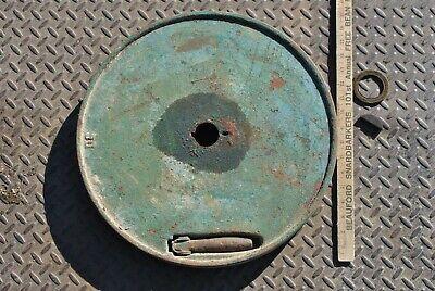 Original Ihc International Lb 3-5 Hp Hit Miss Gas Engine Cast Iron Flywheel
