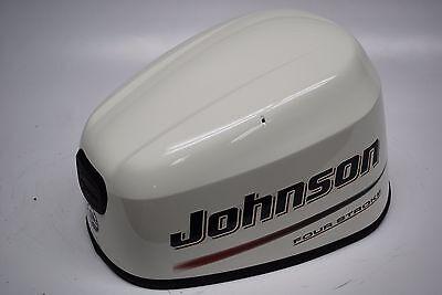 New Johnson Outboard Motor Hood 25hp 4 Stroke 5037060 Cover White 2006