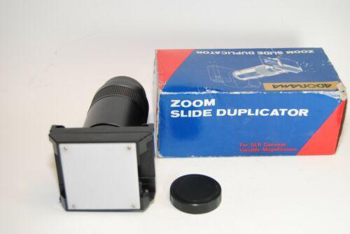 Zoom Slide Duplicator for SLR Cameras compatible T Mount