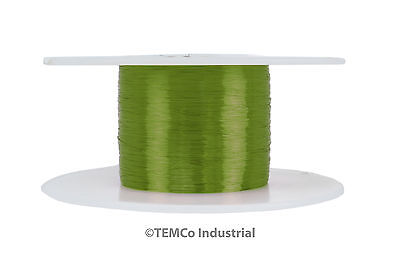 Temco Magnet Wire 40 Awg Gauge Enameled Copper 155c 4oz 7980ft Coil Green