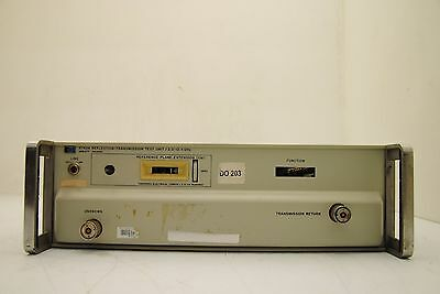 Hp 8743a Reflection Transmission Unit For Parts Amm