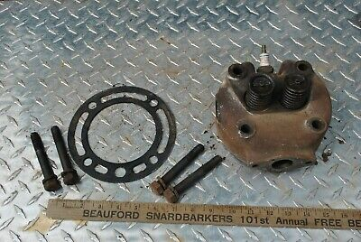 Original Ihc International La 3-5 Hp Hit Miss Gas Engine Cylinder Head