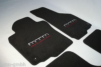 Original Lengenfelder Fußmatten passend für VW Phaeton Kurz ECHTLEDER BRAUN
