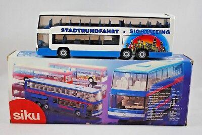 SIKU 3814 MERCEDES-BENZ Bus / COACH in SIGHTSEEING STADTRUNDFAHRT Livery MIB