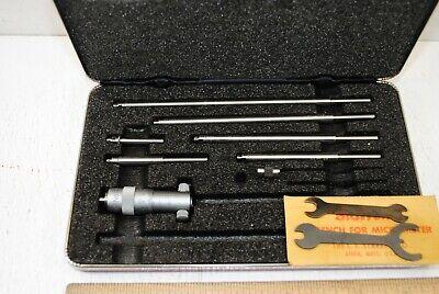 Starrett No.124m Metric Id Micrometers 50-200 Mm