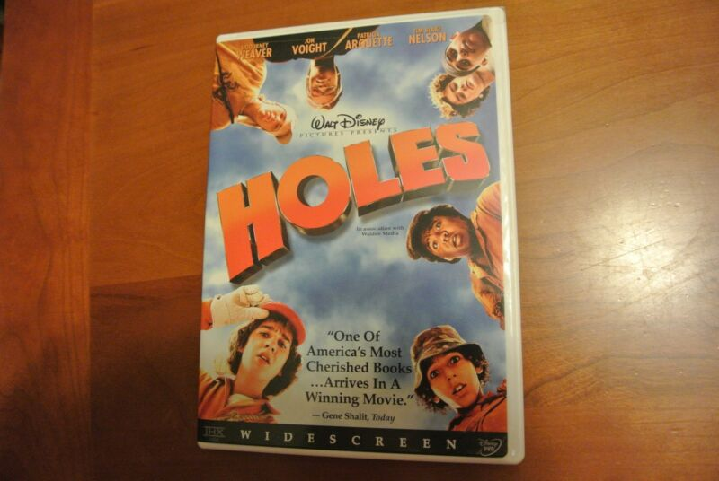Holes dvd by Walt Disney Widescreen, Action Comedy, Shia LaBeouf