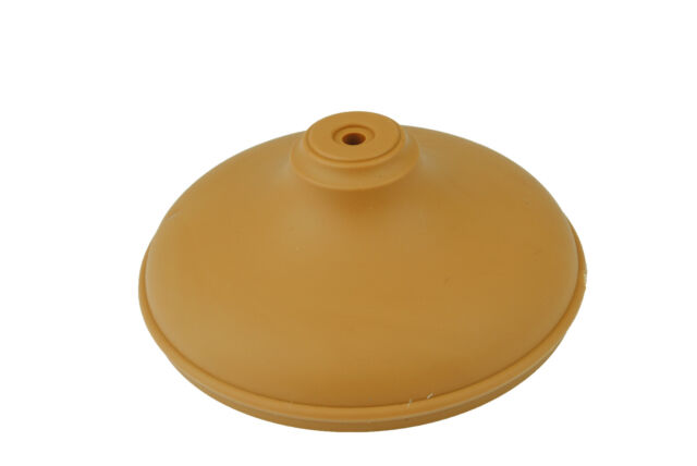 """Linic 4x Light Brown Round Fence Post Cap Top Finial 4"""" 100mm Caps UK Mde GT0039"""