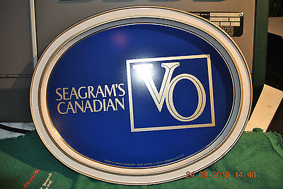 """SEAGRAMS CANADIAN VO SERVING TRAY in  """" PERFECT CONDITION """""""