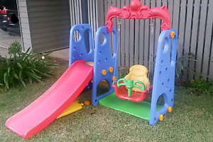Outdoor / Indoor Swing & Slide Combo Set Graceville Brisbane South West Preview