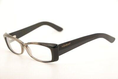Authentic Yves Saint Laurent YSL 6334 AV3 Grey Fade 53mm Frames Eyeglasses RX