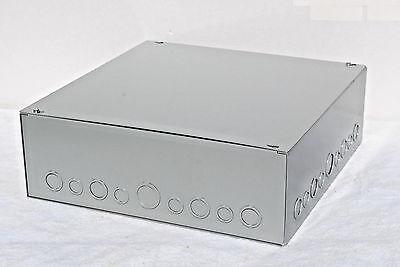 18 X 18 X 6 Metal Screw Cover Junction Box Nema-1 Indoor Enclosure Wk0s Nib