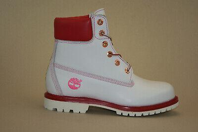 Timberland 6 Inch Premium Boots Gr 38 US 7W Waterproof Damen Schnürstiefel (Damen Weiß Timberland Boots)