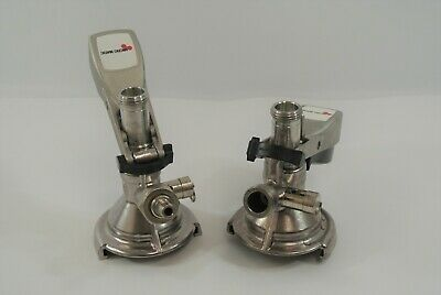 Micro Matic Lot Of 2 Keg Couplers For Draft Beer Systems U Type Brewery Parts