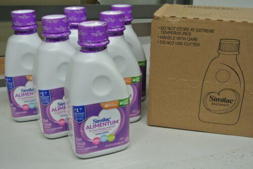 1 Case 6 Bottles 32oz Similac Alimentum Hypoallergenic Baby Formula liquid (E1)