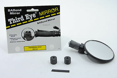 Third 3rd Eye Bar/Handlebar End Mirror