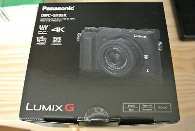 Panasonic Lumix DMC-GX85 Mirrorless Micro 4/3 Digital Camera Body Only - Black