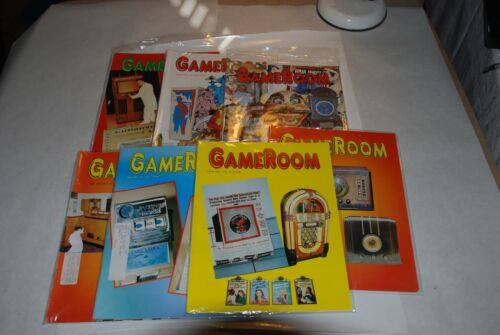 7 GAMEROOM MAGAZINES FEBRUARY, MARCH, APRIL, SEPTEMBER, OCTOBER, NOV, DEC 1995