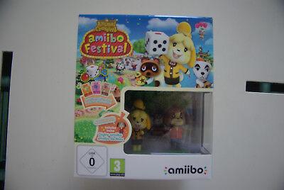 Jeu vidéo Animal Crossing Amiibo Festival Wii U neuf
