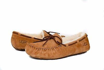 UGG Women Dakota 5612 Moccasin Slipper in CHESTNUT Sz 5-12 NEW w/ Box