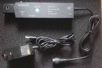 Oscilloscope Current Probe 50mhz Max. Current 40a Bnc Connector Accuracy 3