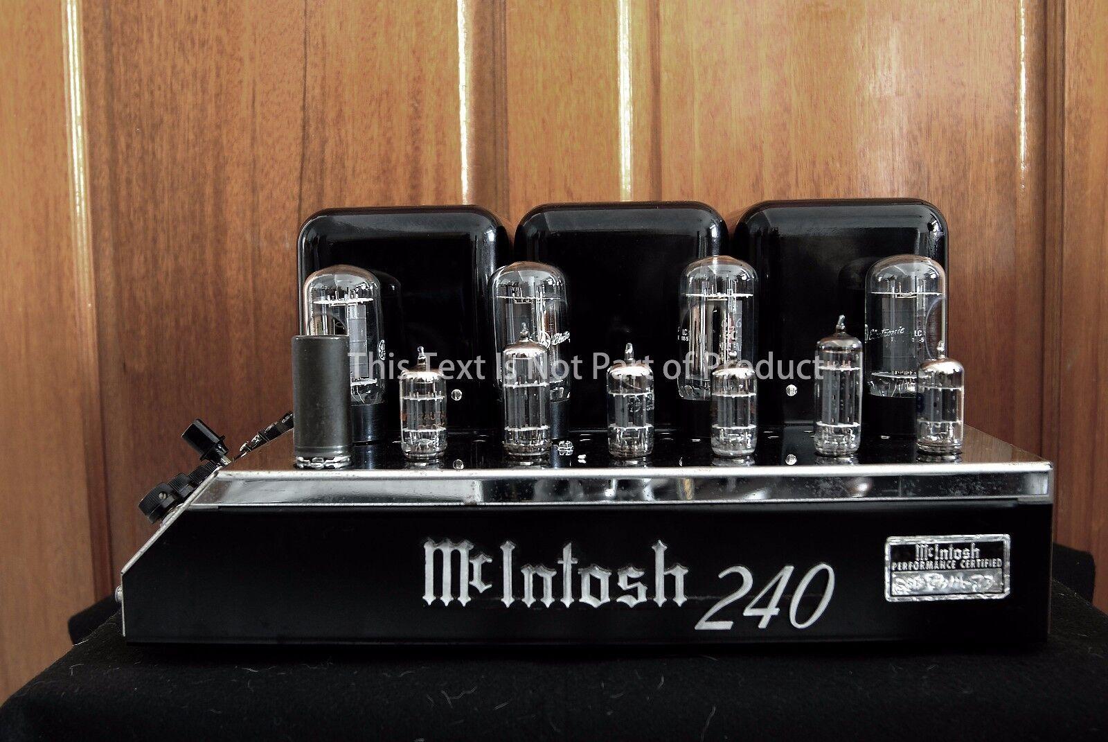 McINTOSH MC30 RHODIUM PLATED LOGO EMBLEM LABEL BADGE New Reproduction for DIY
