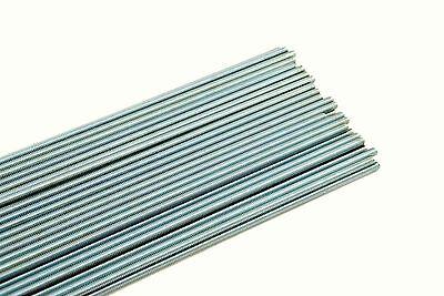 50 Threaded Rod 14-20 X 36 A307 Zinc Plated All-thread 14 X 3 Ft