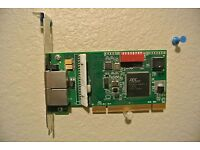 Contemporary Controls PCI20-TB5 Arcnet RJ45 /& 3 Pos Screw Terminal 20020 PCI tw