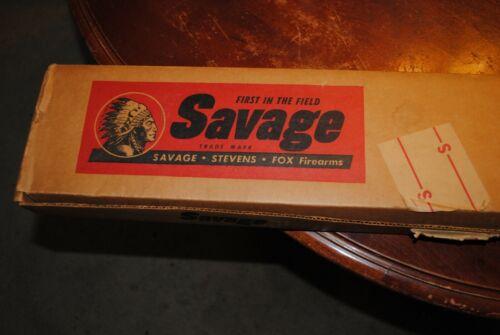 Savage Model 99F Original Box Vintage Rare