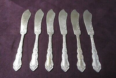 Royal Danish by International Sterling Silver Butter Spreader HH AS Paddle 6