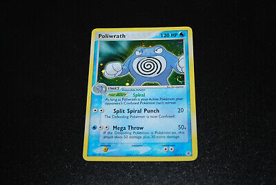 2004 Ex FireRed LeafGreen Poliwrath Holo 11/112