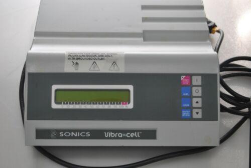 Sonics Vibra cell ULTRASONIC PROCESSOR VCX 130PB