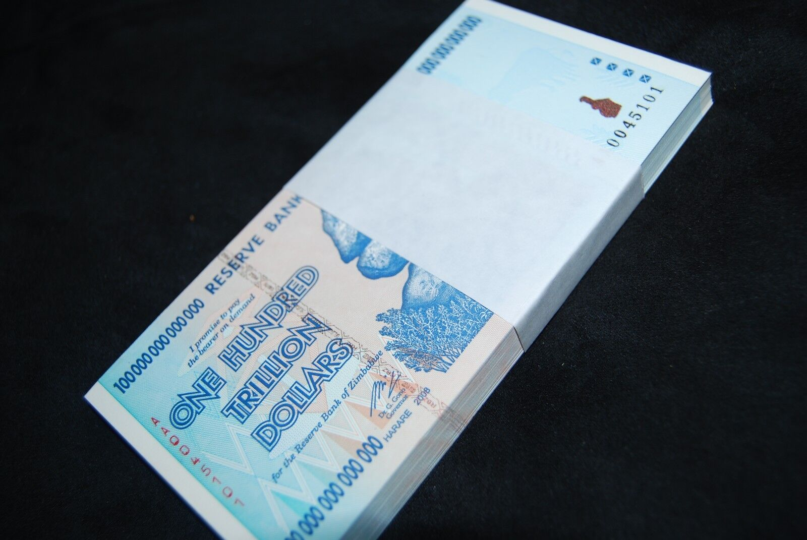 23X ZIMBABWE 100 TRILLION DOLLARS | UNCIRCULATED | 2008 AA | OVER 50 IN STOCK!