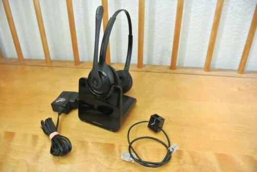 Plantronics CS520 over the head  Wireless Headset - Black
