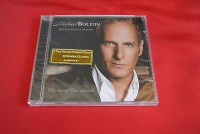 Bolton Swings Sinatra By Michael Bolton  Cd  May 2006  Concord  Sealed New