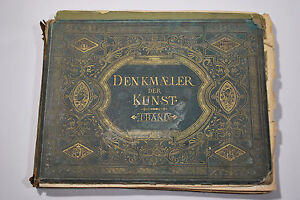 Denkmaler Der Kunst - Paul Neff  - Antique architecture book