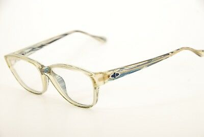 New Authentic Vintage Chrisitan Dior 2622 50 Clear/Blue/Green 55mm Eyeglasses RX