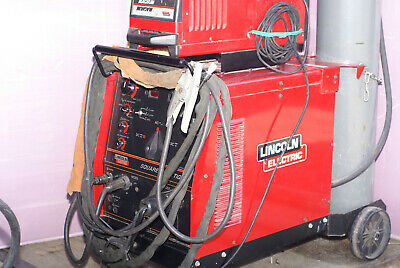 Lincoln Square Wave Model Tig 275 With Lincoln Magnum Cooling System
