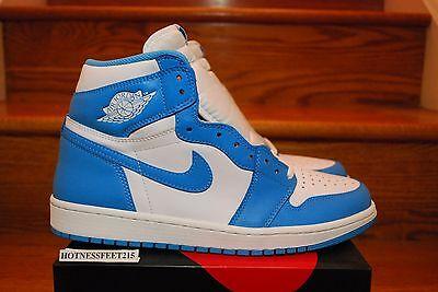 2015 Nike Air Jordan 1 UNC Retro High OG Carolina Blue GS MEN Size: 3.5Y-15
