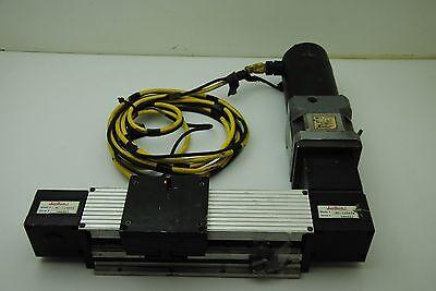Lintech M1-124406 Belt Driven Linear Rail Actuator W Px34-003 Bayside Gearhead