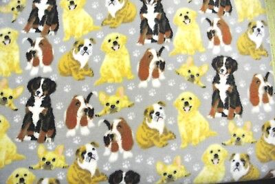 Dog Blanket Chihuahuas Labs Bulldogs Basset Hounds Can Personalize 28x44