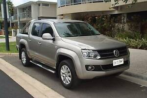 2012 Volkswagen Ute Amarok Highline 4x4 6 speed excellent cond Clearview Port Adelaide Area Preview